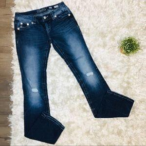 Miss Me Signature Slim Bootcut Jeans 26